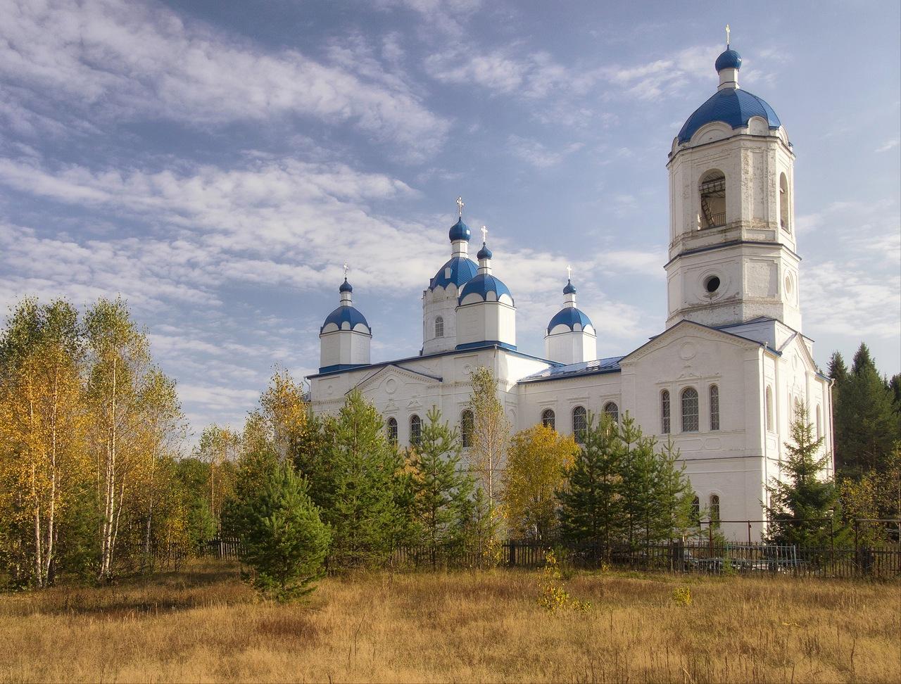Церковь Введения Пресвятой Богородицы во Храм в д. Байдарово